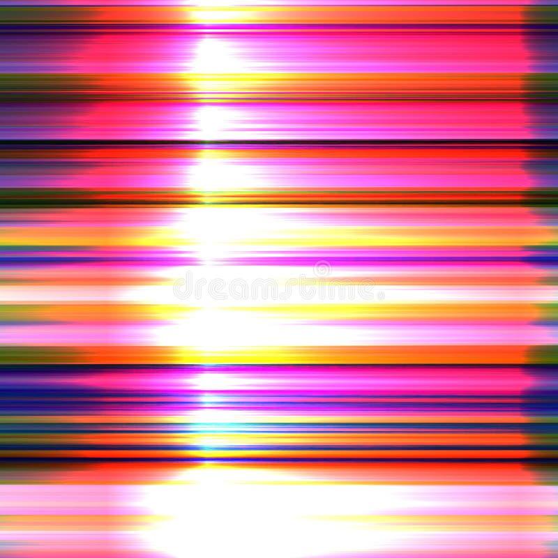 Bunter abstrakter Hintergrund des Störschubs für Ihre Designe Chaosästhetik des Signalfehlers stock abbildung