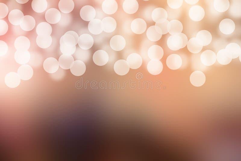 Bunter abstrakter Unschärfegebrauch für Hintergrund mit bokeh stockfotos