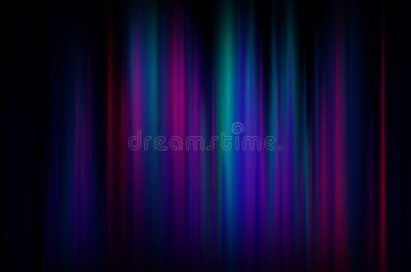 Bunter Aura-Hintergrund lizenzfreie abbildung