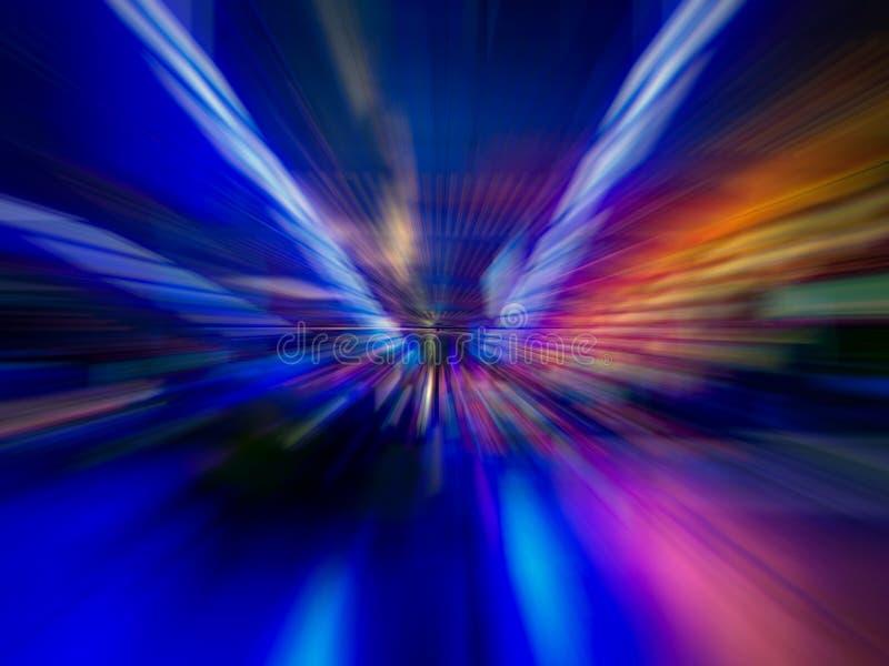 Bunter Auszug zeichnet Hintergrund Abstrakte glatte Zeilen stockfoto