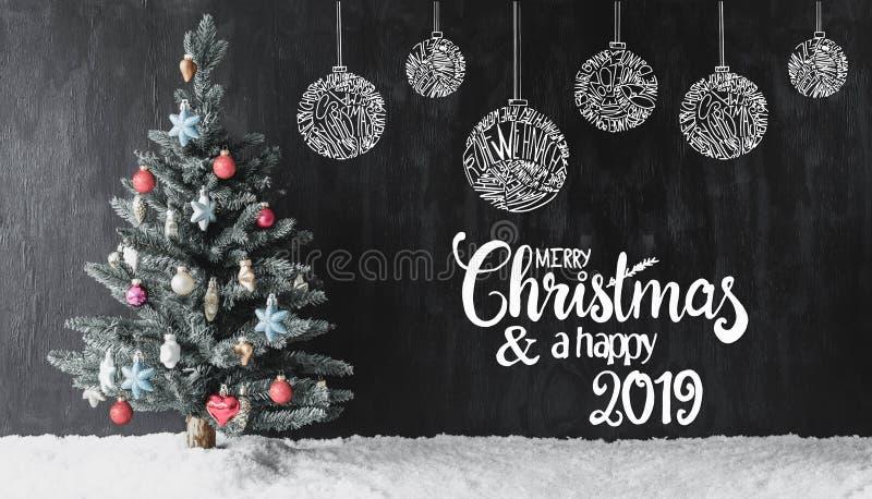 Weihnachten 2019 Schnee.Frohe Weihnachten Verschiedenen Sprachen 2 Archivbilder Abgabe Des