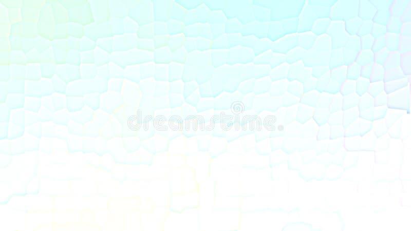 Bunter blauer und weißer Steigungsentwurf Moderne Fahne der niedrigen geometrischen Polyform lizenzfreie stockfotografie