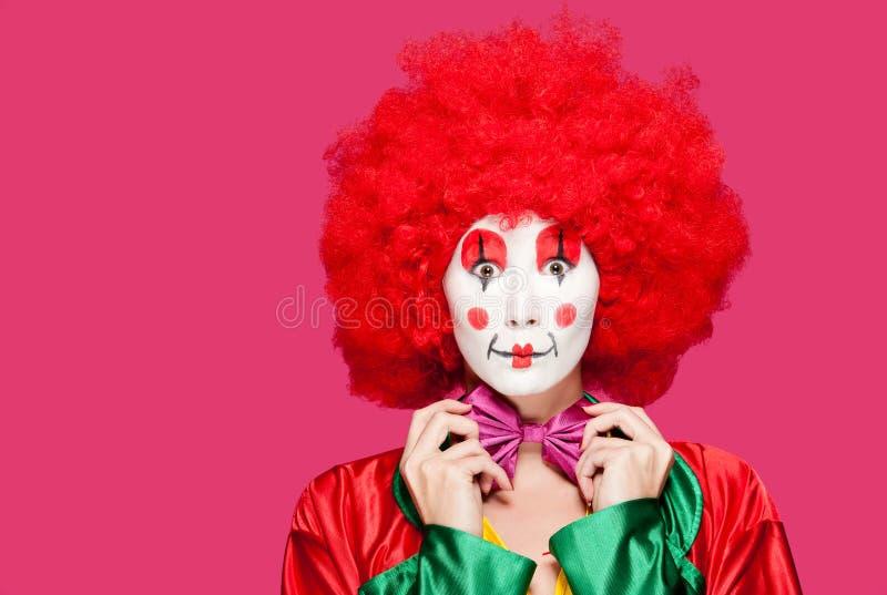 Bunter Clown stockfotos