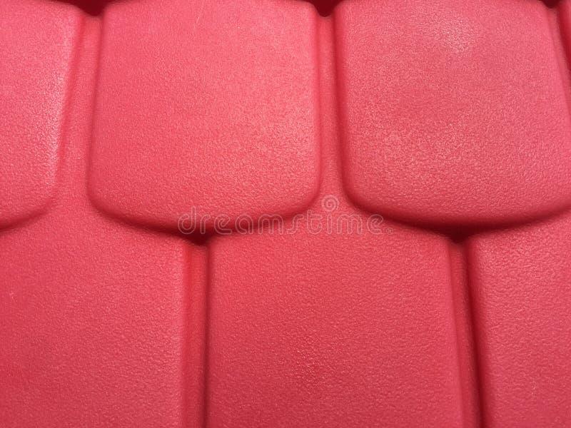 Bunter Dachplatteplastik stockfoto