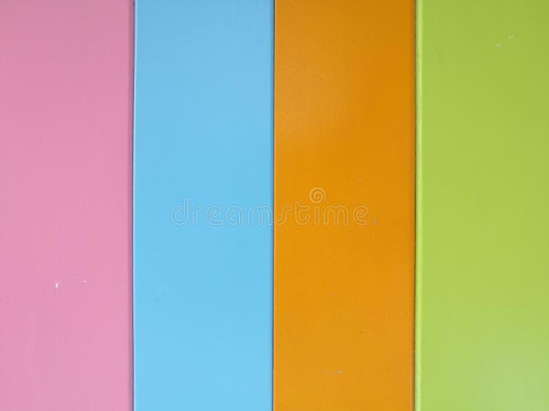 Bunter gemalter hölzerner Hintergrund lizenzfreie stockbilder