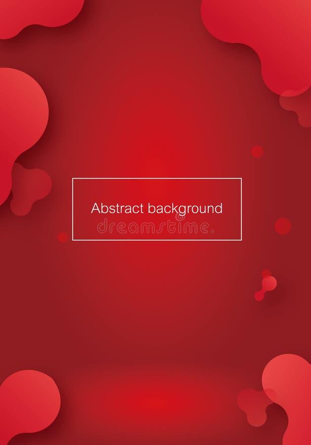 Bunter geometrischer abstrakter Hintergrund für Vektor lizenzfreie abbildung