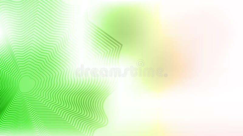 Bunter grüner unscharfer Hintergrund mit abgestreiftem Element Moderne abstrakte Steigungskarte vektor abbildung