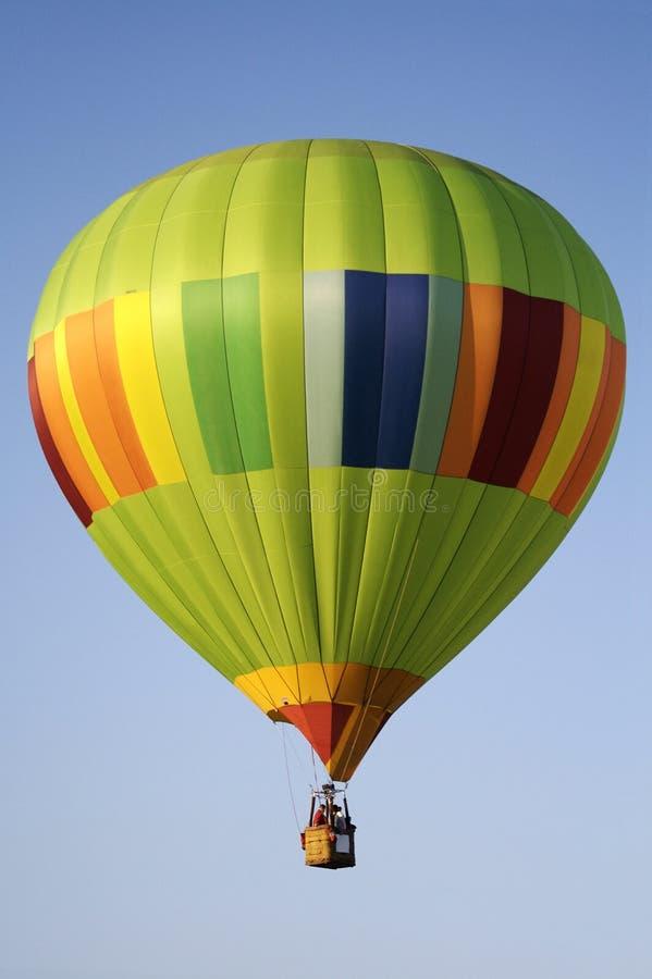 Bunter Heißluft-Ballon stockfotos