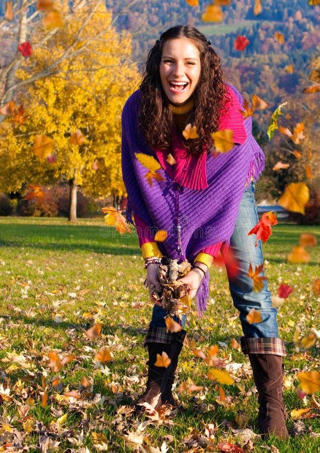 Bunter Herbst 2 lizenzfreies stockbild