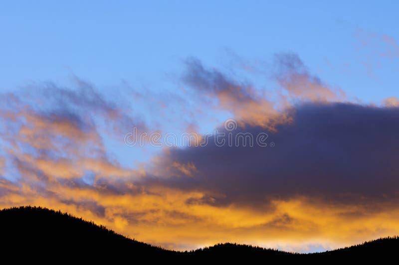 Bunter Himmel lizenzfreie stockbilder