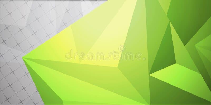 Bunter Hintergrund der abstrakten bunten Dreieckhintergrund-Zusammenfassung lizenzfreie abbildung