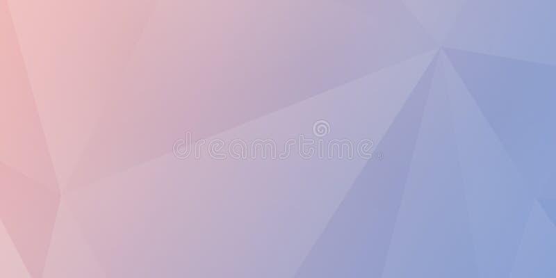 Bunter Hintergrund der abstrakten bunten Dreieckhintergrund-Zusammenfassung vektor abbildung