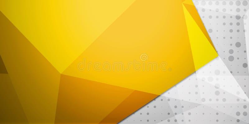 Bunter Hintergrund der abstrakten bunten Dreieckhintergrund-Zusammenfassung stock abbildung