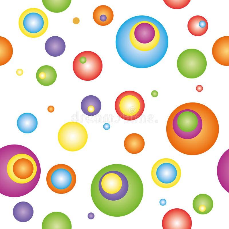 Bunter Hintergrund des abstrakten Kreises stockfotos