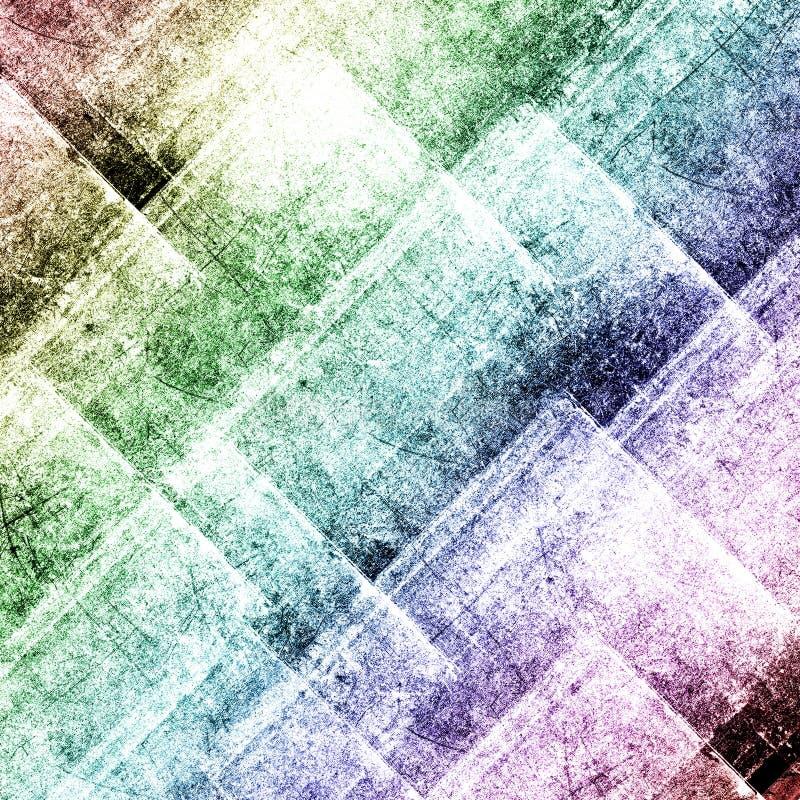 Bunter Hintergrund des geometrischen Schmutzes vektor abbildung