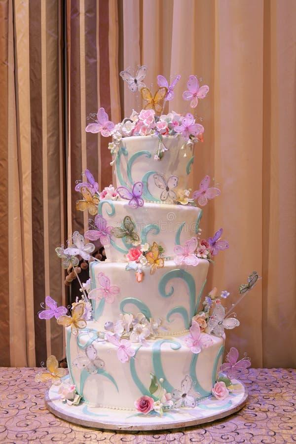 Bunter Kuchen, Wedding lizenzfreie stockfotos