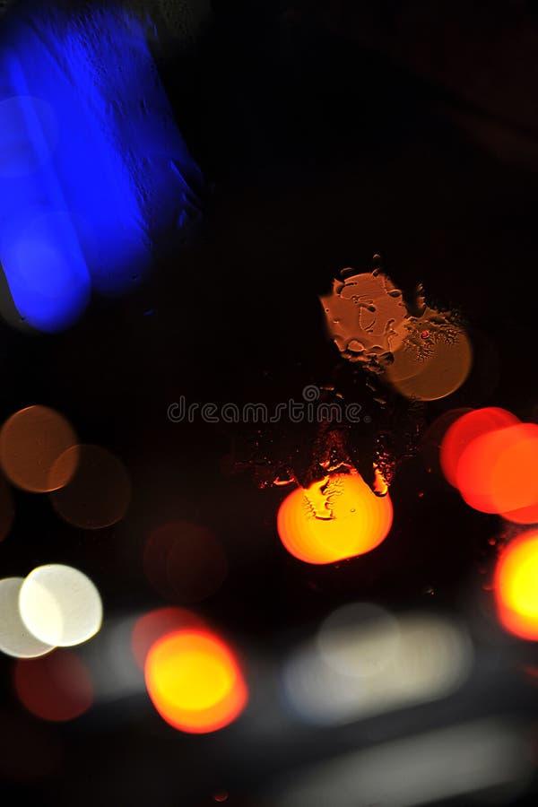 Bunter Leuchte-Auszug stockbild