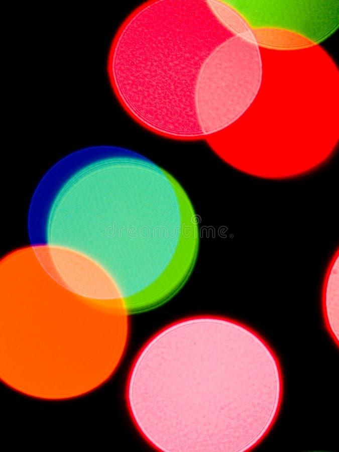 Bunter Leuchte-Hintergrund stockfotos