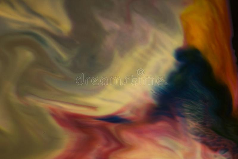 Bunter Marmorhintergrund Tintenmarmorbeschaffenheit Abstrakter Anstrich Schöner abstrakter Hintergrund stockfotografie