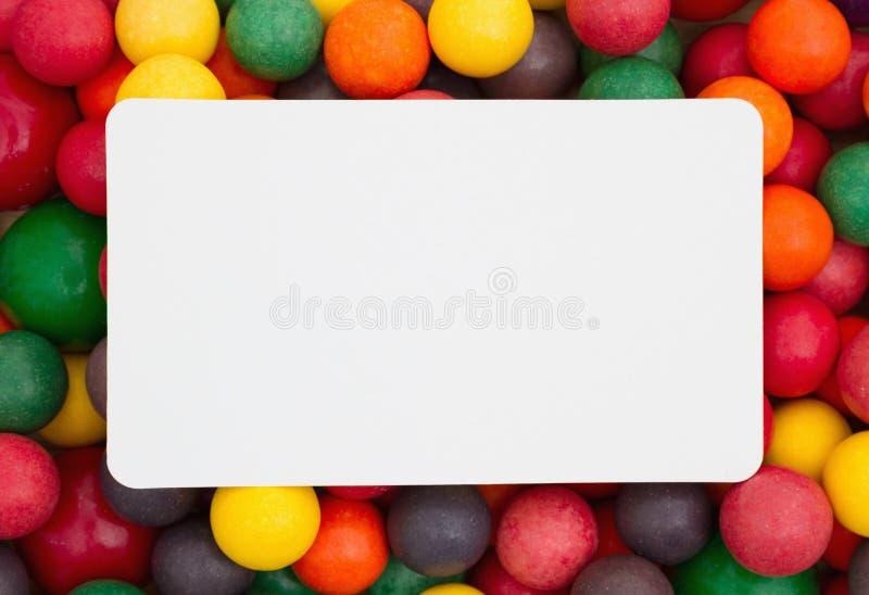 Bunter multi farbiger Kaugummihintergrund lizenzfreies stockfoto