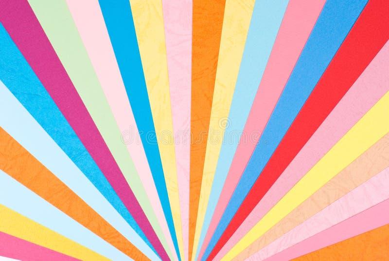 Bunter Papierhintergrund stockbilder