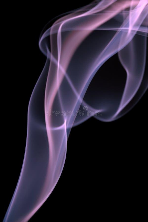 Bunter Rauch getrennt lizenzfreie stockbilder