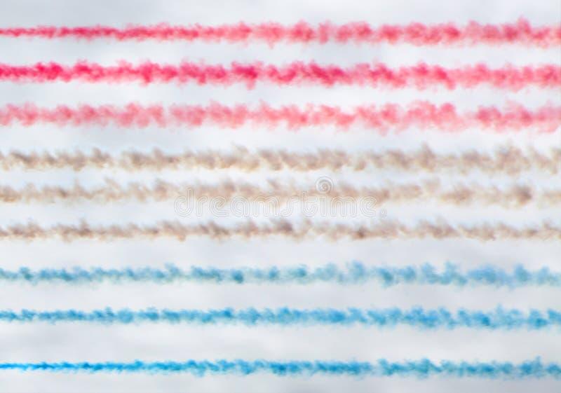 Bunter Rauch schleppt Hintergrund lizenzfreies stockbild