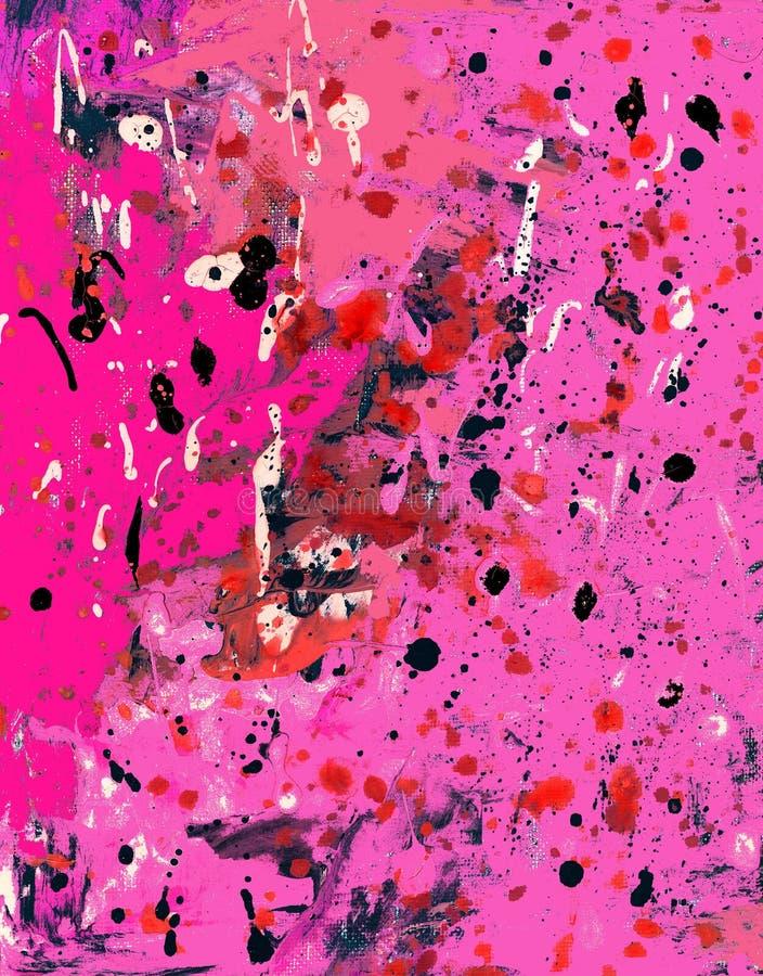 Bunter rosafarbener Grunge Hintergrund stockfoto