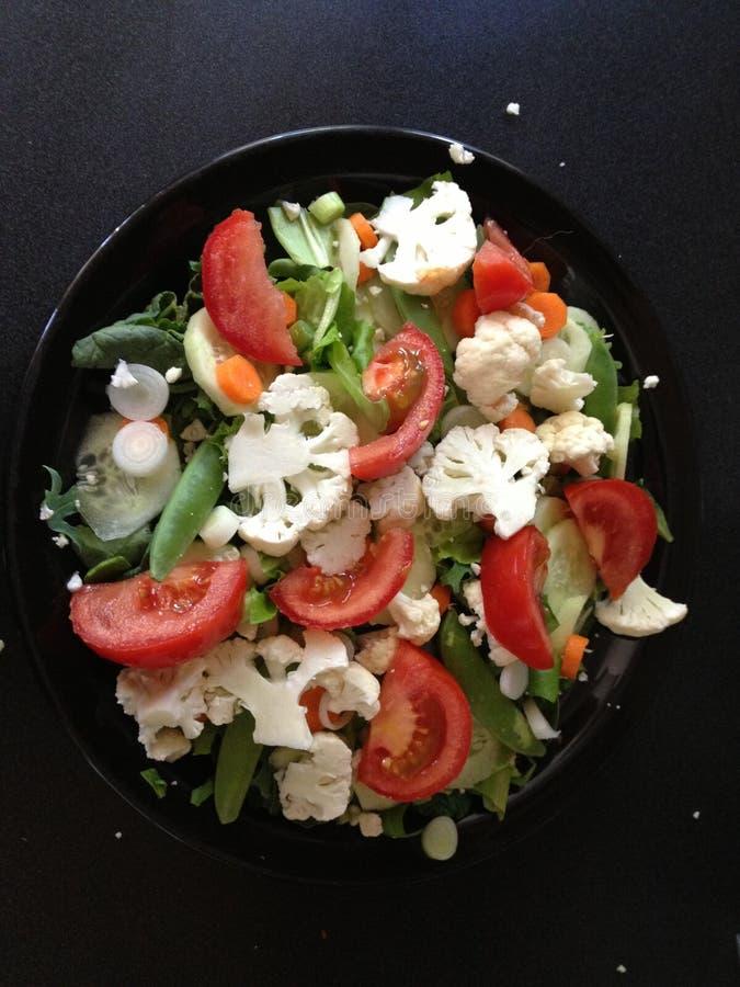 Bunter Salat stockfoto