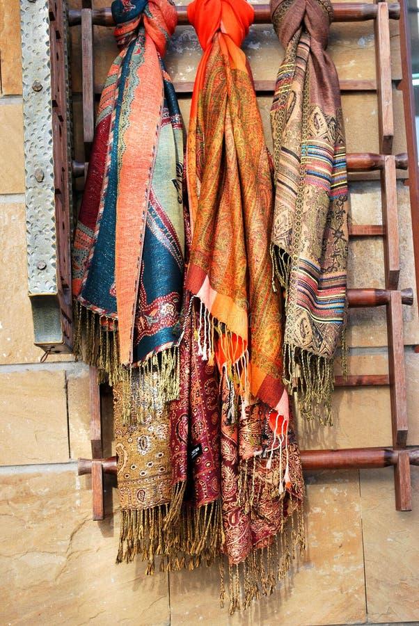 Bunter Schal stockbild