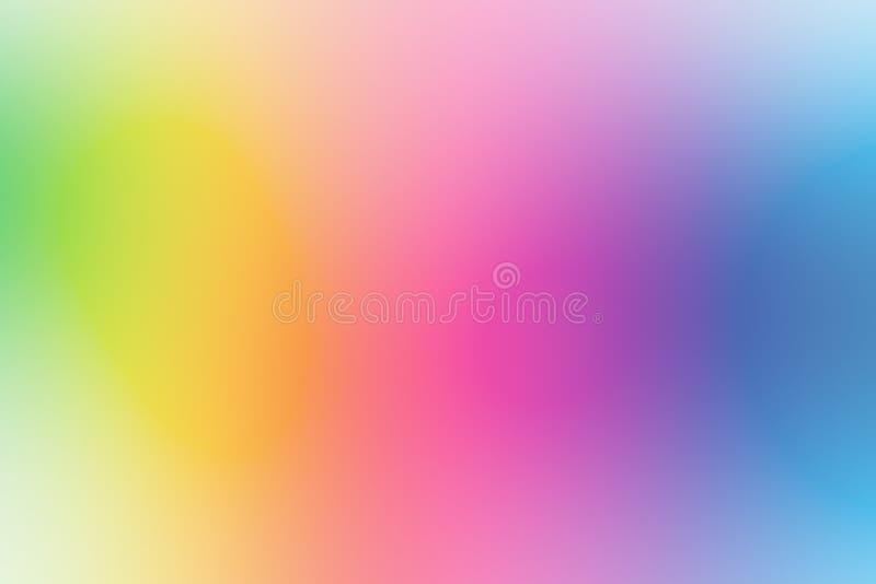 Bunter Steigungsmaschenhintergrund in den hellen Regenbogenfarben Abstrakt machen Sie unscharfe Beschaffenheit glatt lizenzfreie stockfotografie