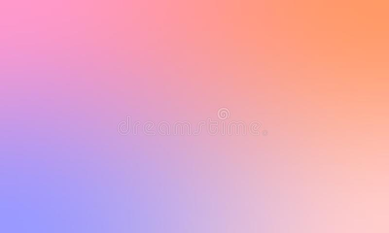 Bunter Unschärfebeschaffenheitshintergrund-Vektorentwurf, bunter unscharfer schattierter Hintergrund, klare Farbvektorillustratio stockfotos