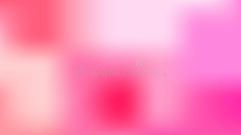 Bunter unscharfer Hintergrund Moderne abstrakte Steigungskarte stock abbildung