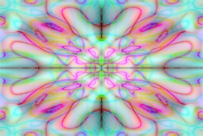 Buntes gezeichnetes Muster vektor abbildung