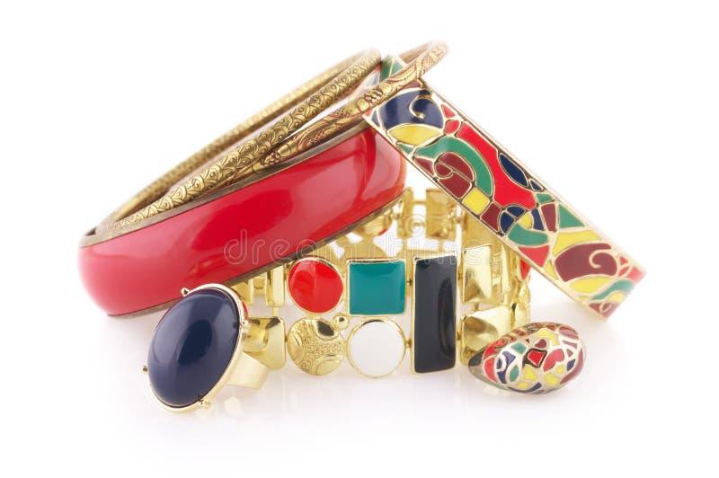 Buntes Juwel stockfotografie