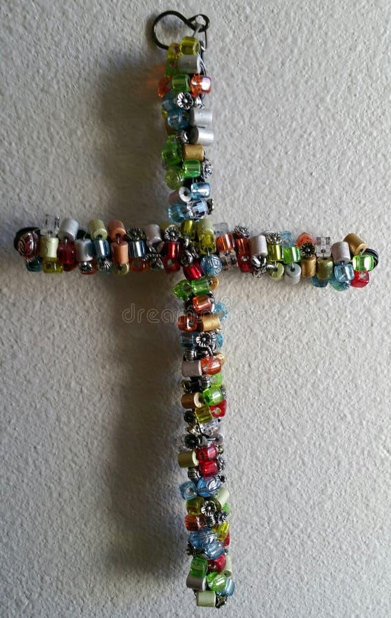Buntes Kreuz lizenzfreie stockbilder