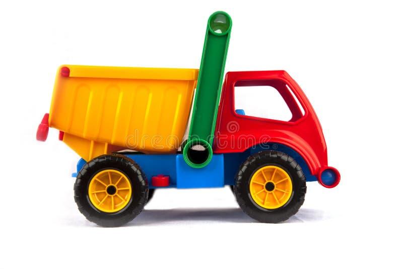Buntes LKW-Spielzeug stockfotos