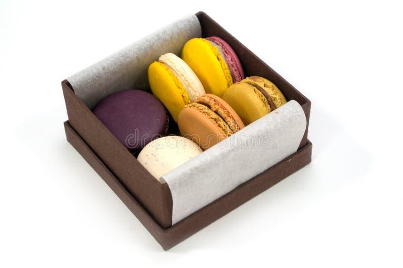 Buntes Macaron stockfotos