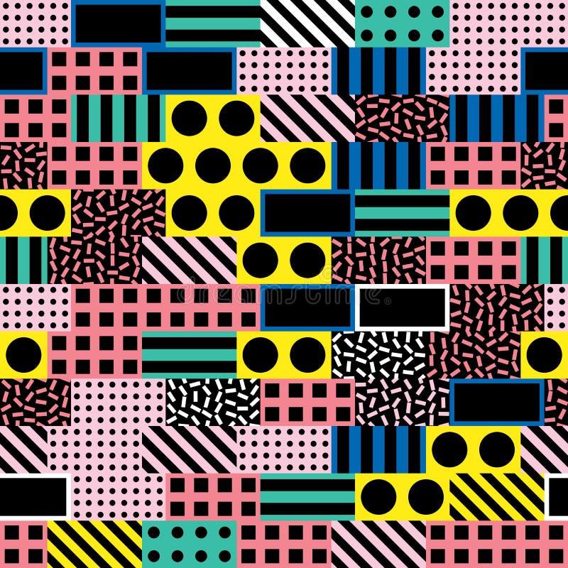 Download Buntes Mutiges Helles Nahtloses Muster Stock Abbildung - Illustration von abdeckung, dekorativ: 90225178