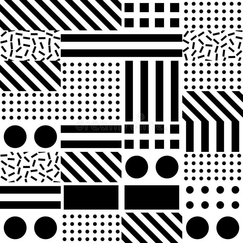 Download Buntes Mutiges Helles Nahtloses Muster Stock Abbildung - Illustration von auszug, schwarzes: 90225180