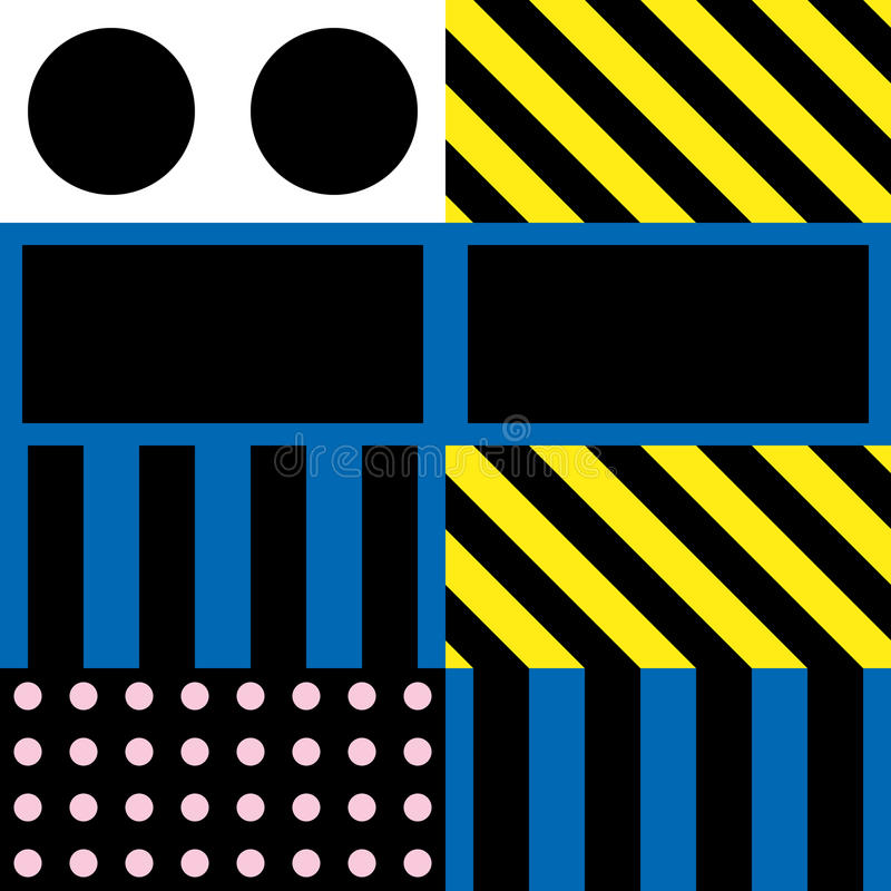 Download Buntes Mutiges Helles Nahtloses Muster Stock Abbildung - Illustration von elemente, auslegung: 90225474