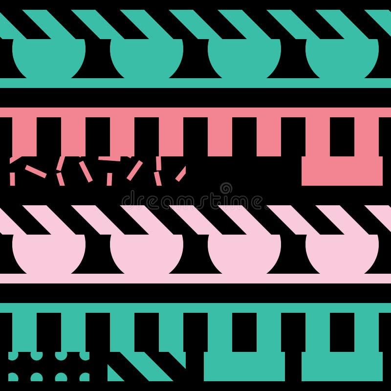 Download Buntes Mutiges Helles Nahtloses Muster Stock Abbildung - Illustration von dekoration, geometrisch: 90225695