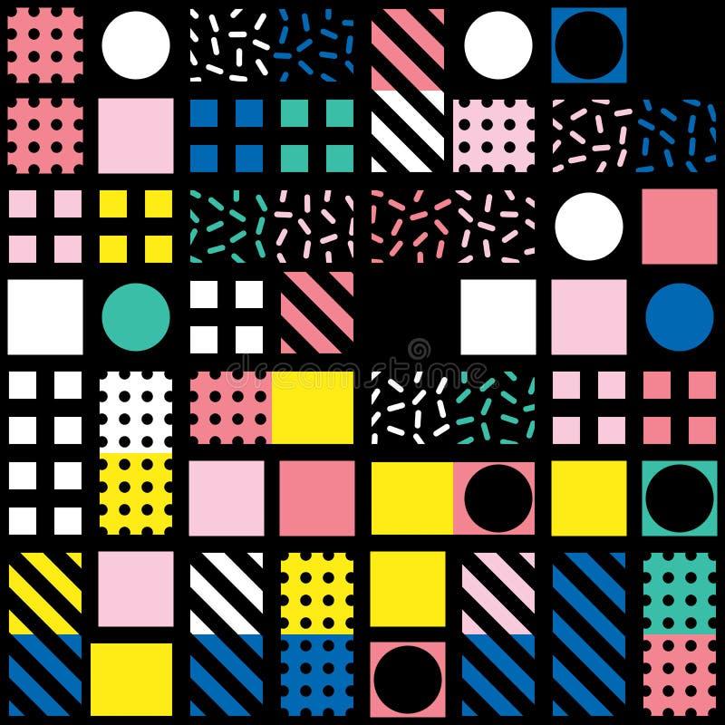 Download Buntes Mutiges Helles Nahtloses Muster Stock Abbildung - Illustration von auslegung, geburtstag: 90234658