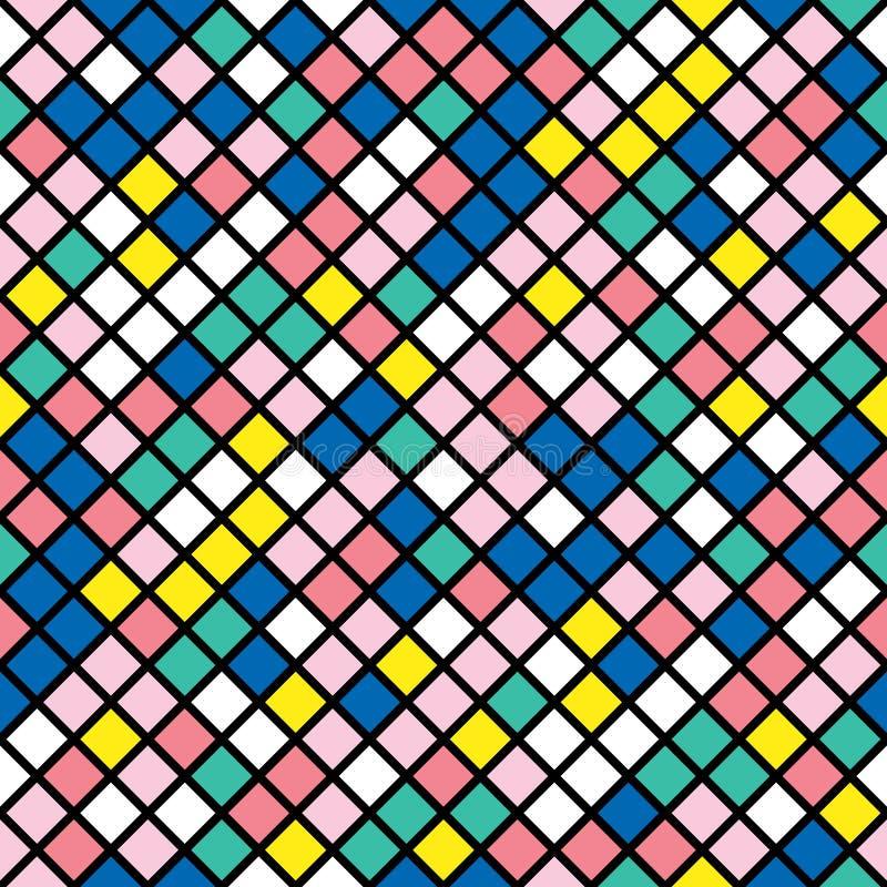 Download Buntes Mutiges Helles Nahtloses Muster Stock Abbildung - Illustration von dekoration, einladung: 90234790