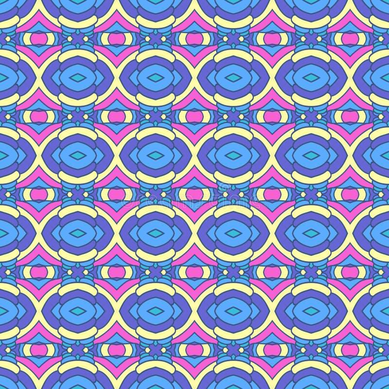 Tapete Orientalisches Muster buntes orientalisches muster nahtlose tapete vektor abbildung