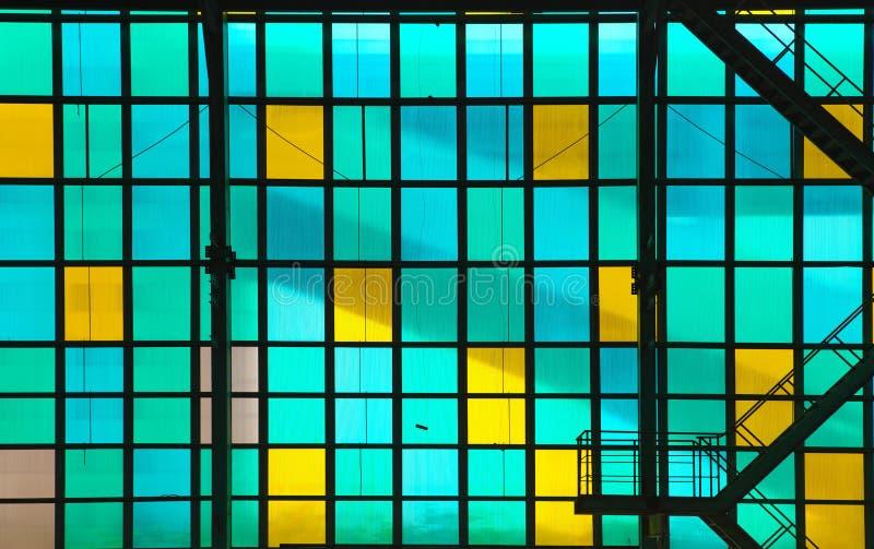 Buntes transparentes Glas lizenzfreie stockbilder