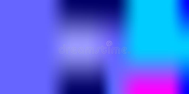 Buntes Unsch?rfezusammenfassungshintergrund-Vektordesign, bunter unscharfer schattierter Hintergrund, klare Farbvektorillustratio vektor abbildung