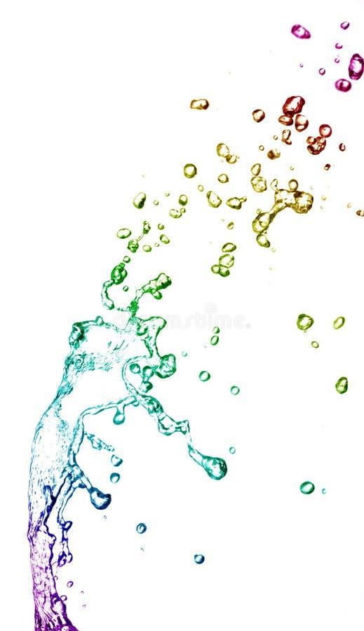 Buntes Wasser lizenzfreie stockfotografie