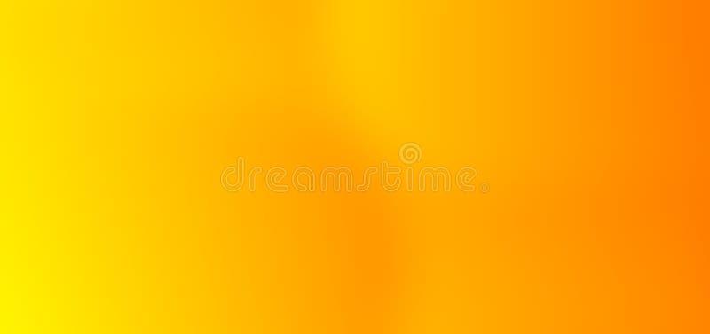 Buntes Zusammenfassungsgelb mit orange multi Farben verwischte schattierten Hintergrund stockfotografie