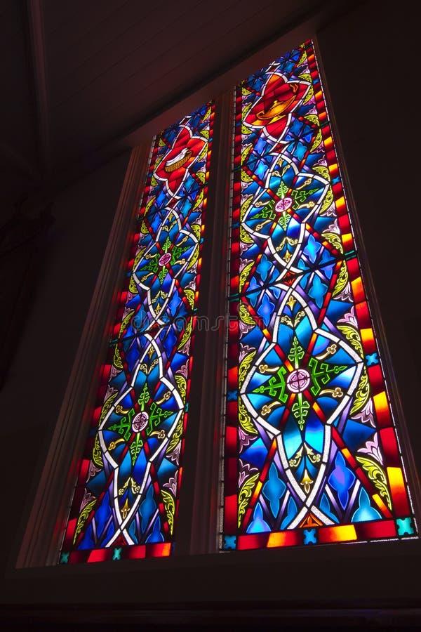 Download Buntglas-Fenster stockbild. Bild von lord, farbe, muster - 26350743